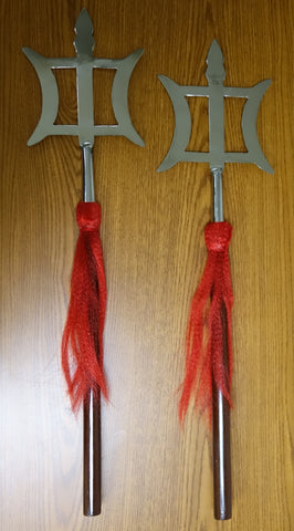 Double Hook Spear