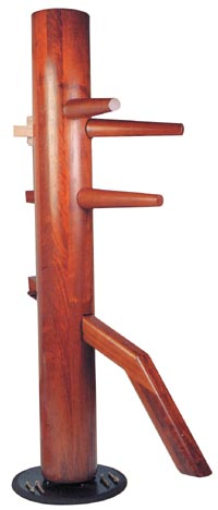 Wing Chun Spinning Wooden Dummy