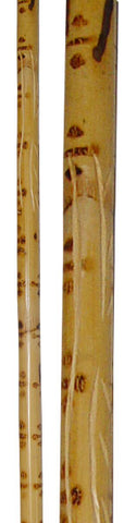 Tiger Striped Rattan Staff