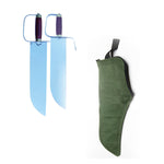 Double Butterfly Swords with Carrying Bag