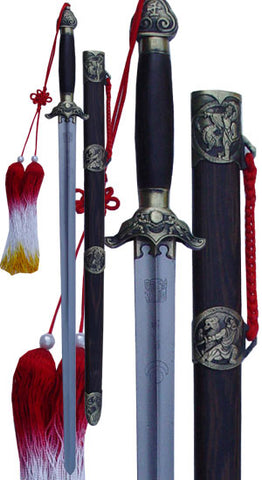 Combat Steel Competition Straight Sword