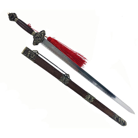Big Dragon Sword with Pattern on Blade Discountinued