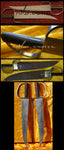 Damascus Steel Butterfly Swords