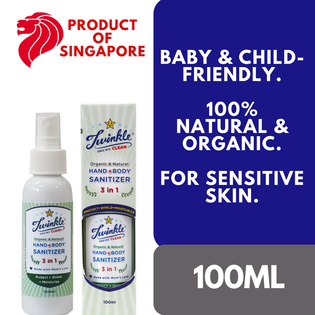 (TRENDING NOW!) 3-in-1 Hand+Body Sanitizer 100ml, Twinkle Singapore