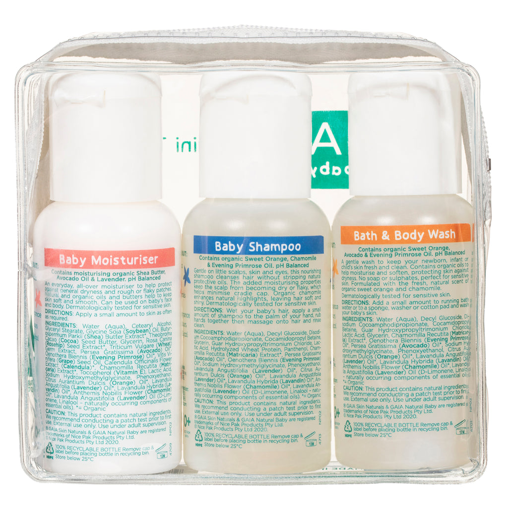 GAIA Baby Mini Traveller 3 × 50ml