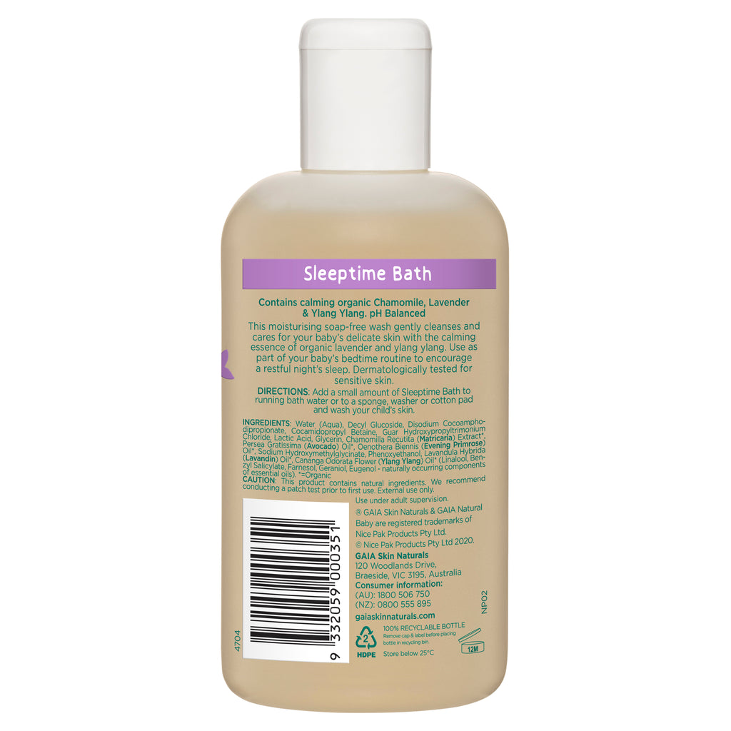 Sleeptime Bath 250ml