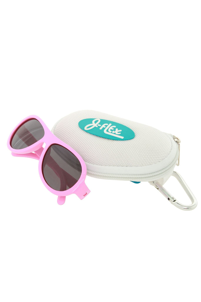 (BEST!) J-Flex Ultra Flexible Kids Sunglasses in Princess Hearts Pink