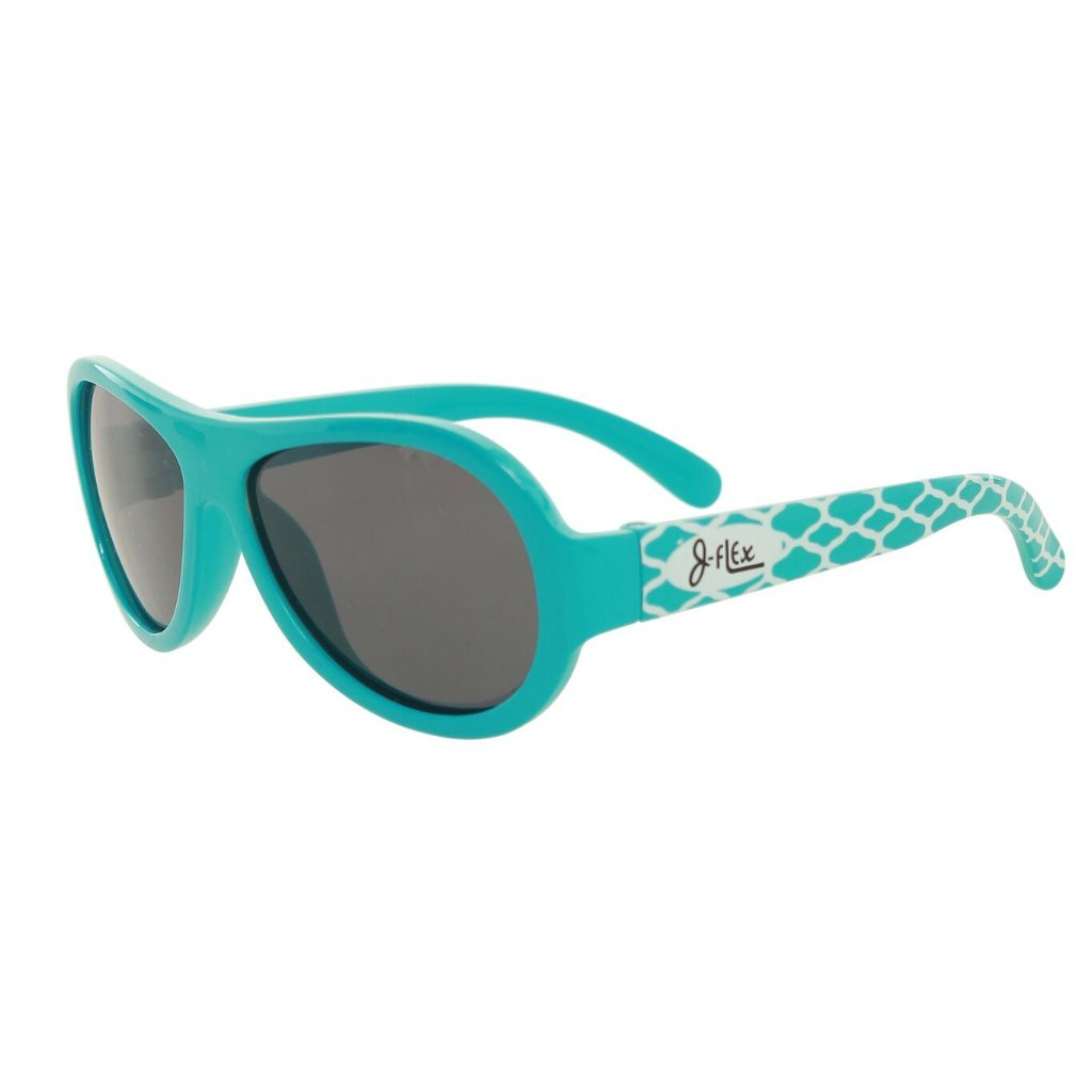 (BEST!) J-Flex Ultra Flexible Kids Sunglasses in Celebrity Blue