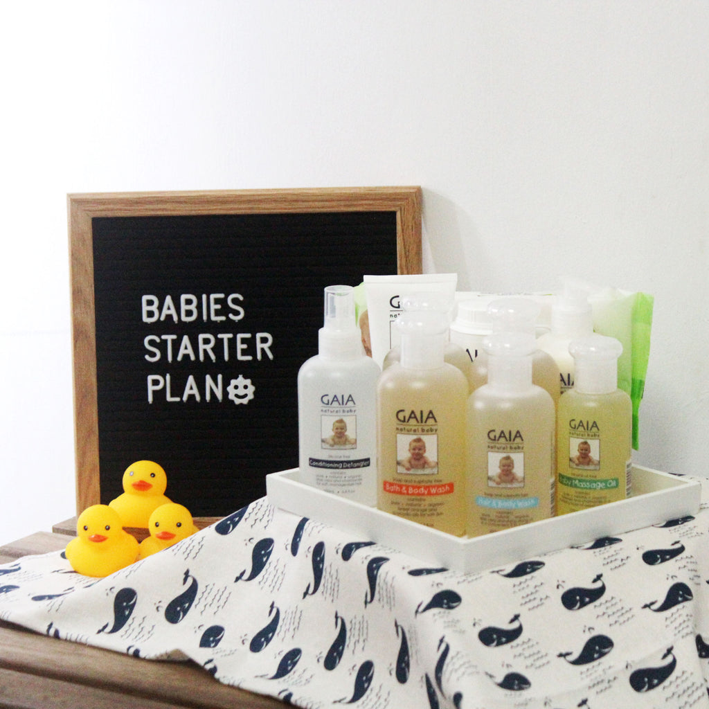 GAIA Babies Starter Savings Bundle (3 items)