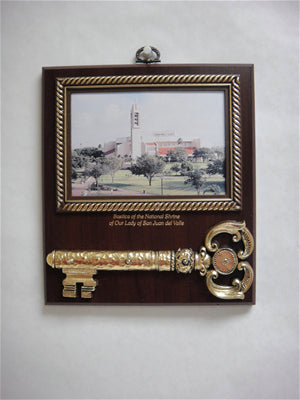 Basilica Key Hook Plaque