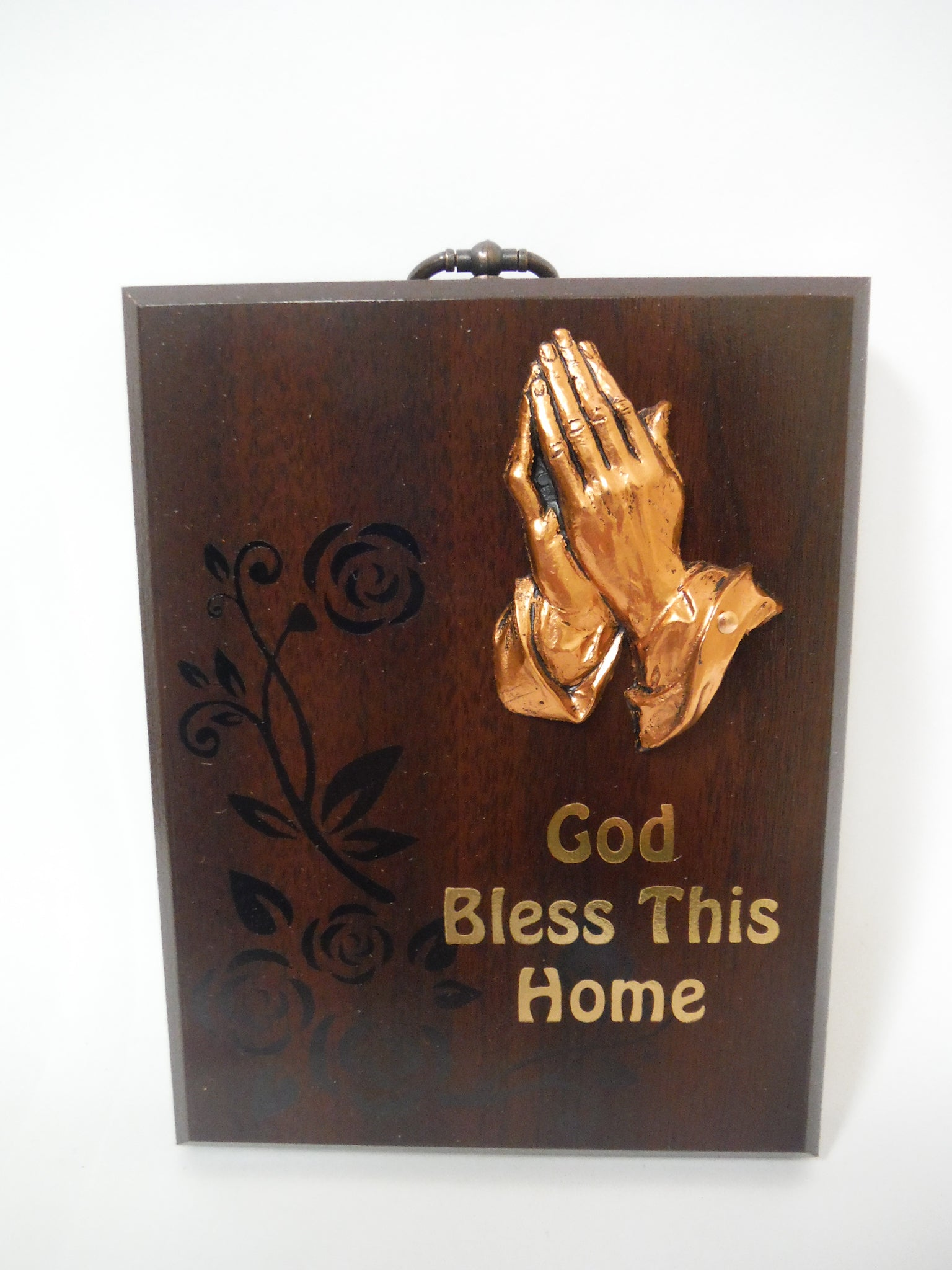 God Bless This Home Wall Plaque