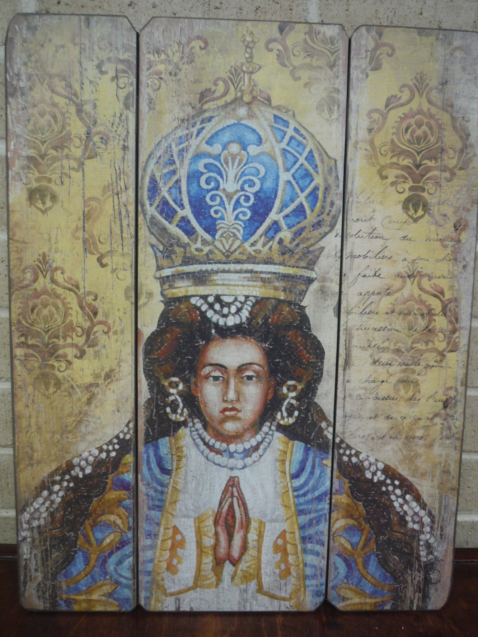 Virgen de San Juan Wall Wood Panel