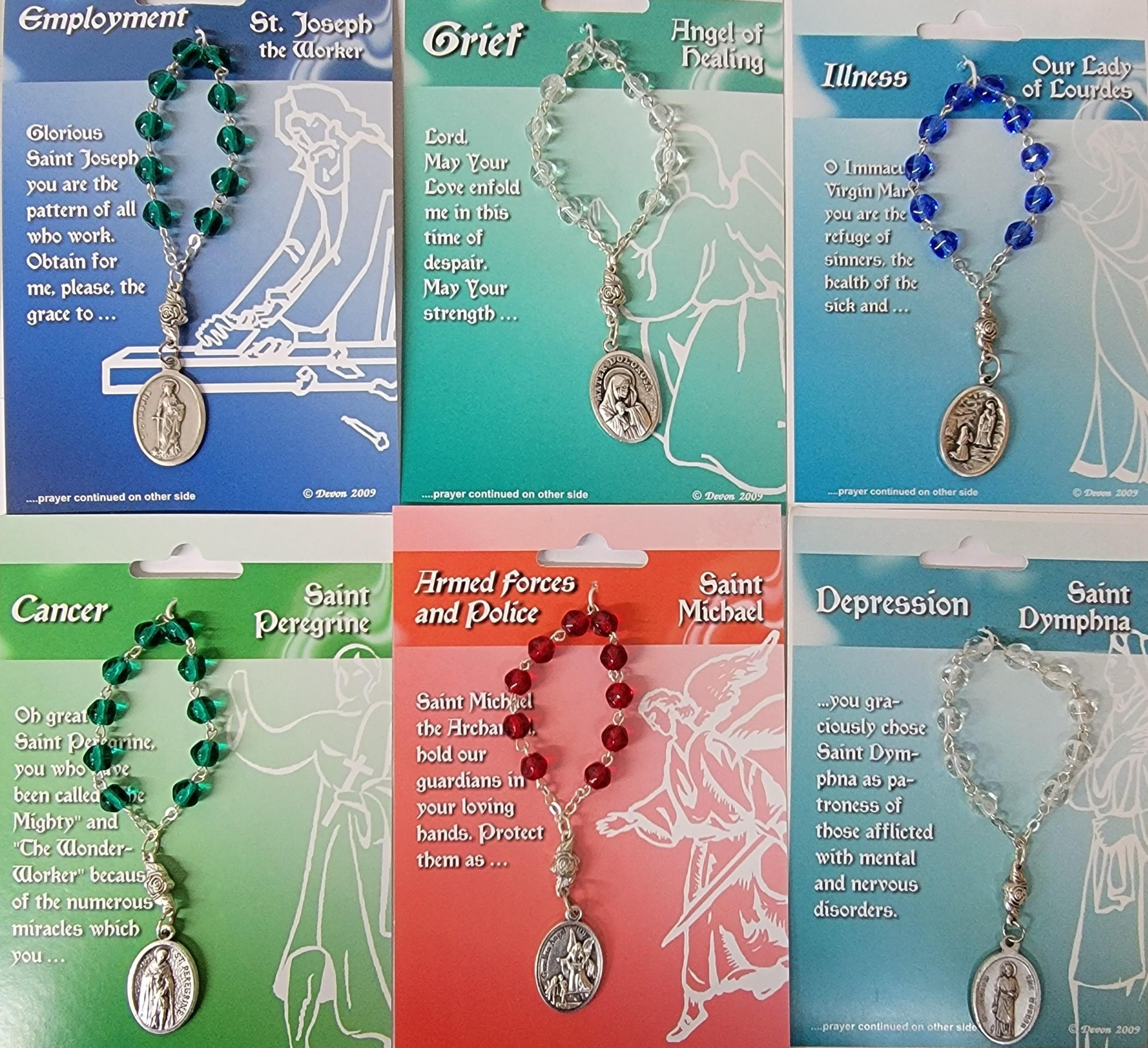 Assorted One Decade Rosary