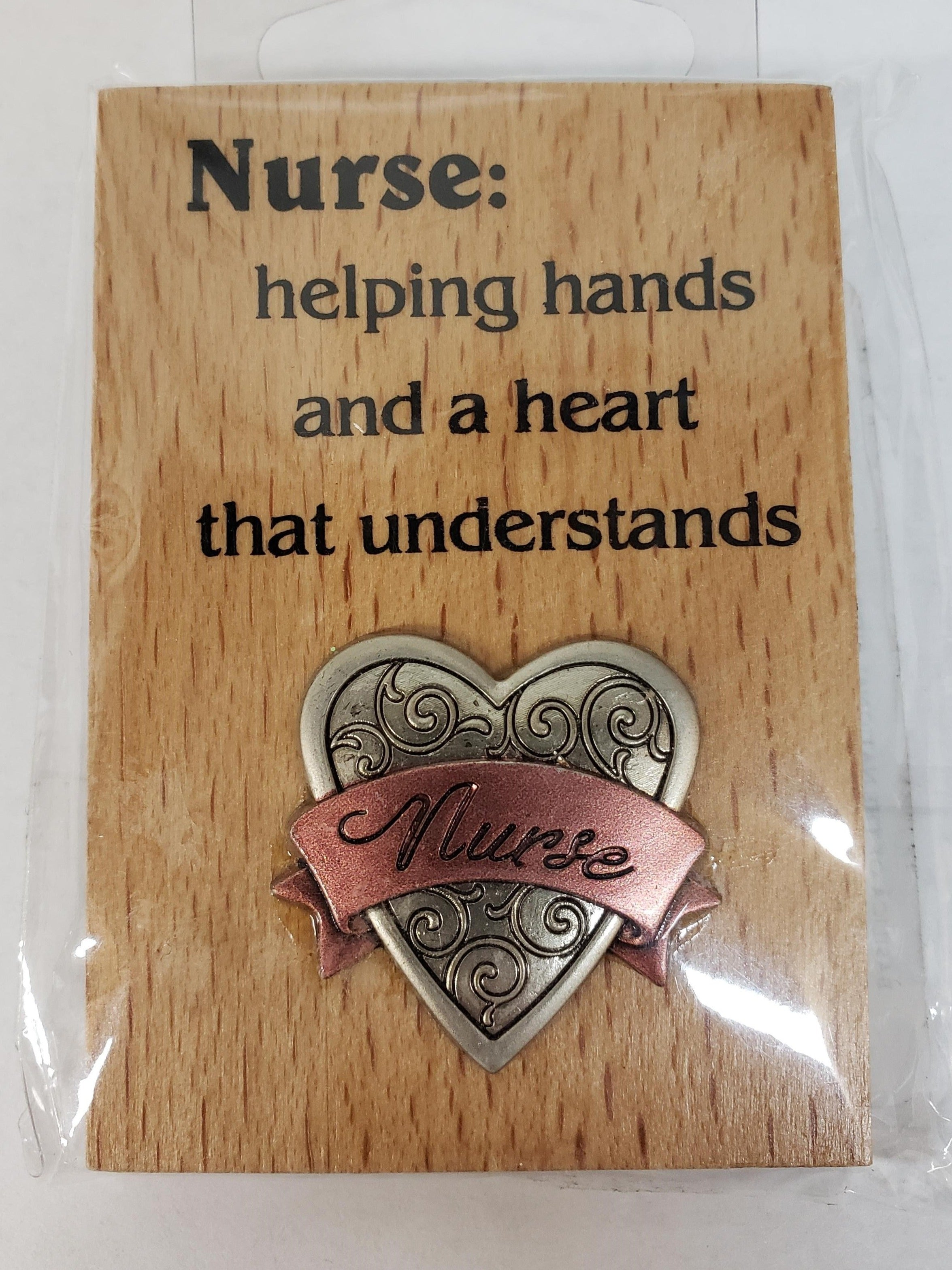 Mini Desk Plaque (Nurses)