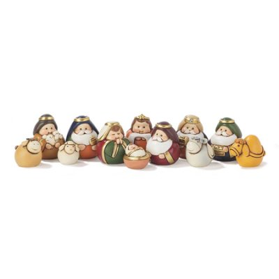 12-Piece Miniature Nativity Set