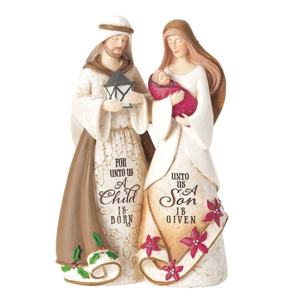 "6"" Holy Family Figurine"