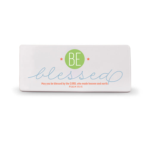 'Be Blessed' Plaque