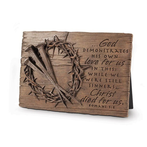 Crown Of Thorns Plaque
