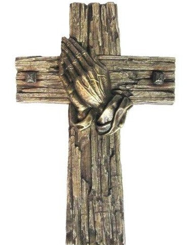 Home Praying Hands Cross