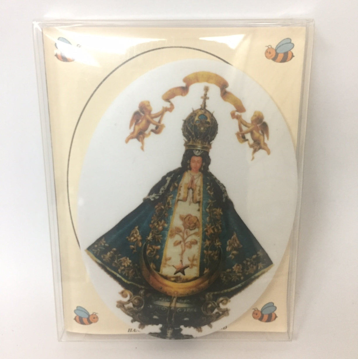 Our Lady of San Juan Oval Tile