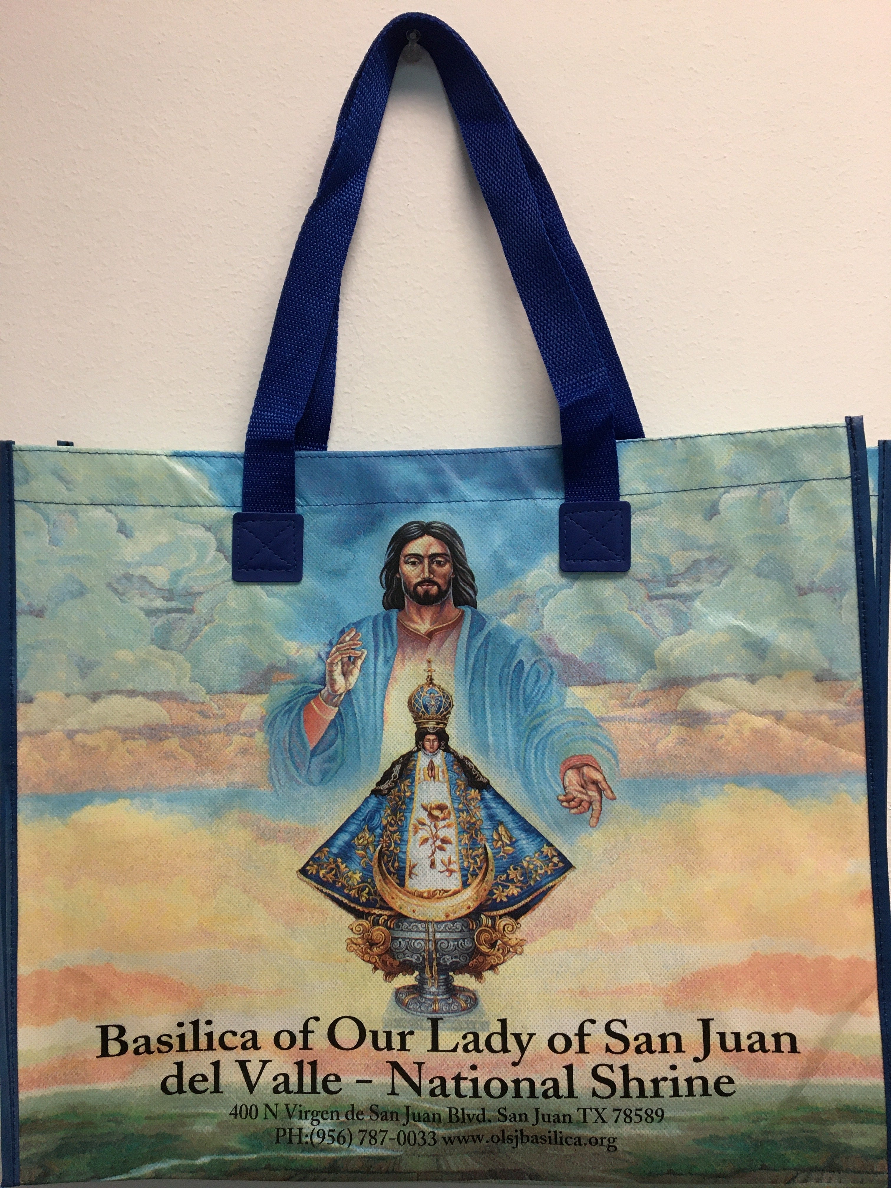 Virgen de San Juan Tote Bag