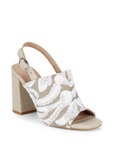 ALEX+ALEX Embroidered Slingback Sandals