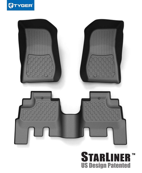 Tyger Auto TG-JA2J2239B Star Armor Kit for 2007-2018 Jeep Wrangler