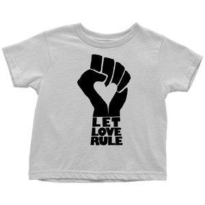 Let Love Rule White Tee