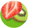strawberry-kiwi hint® sparkling Swatch