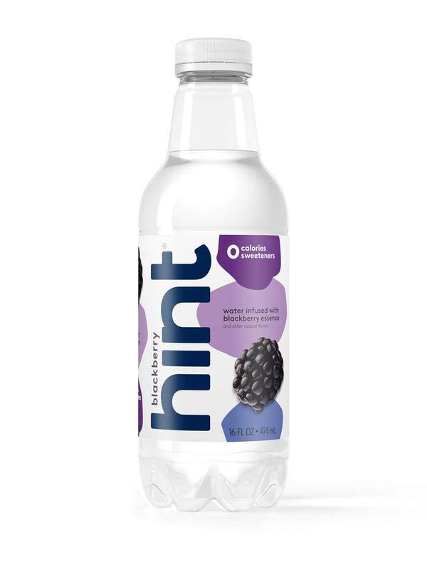 Drink Hint Review - Blackberry hint water