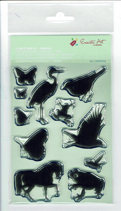 Animals Clear Stamp Set