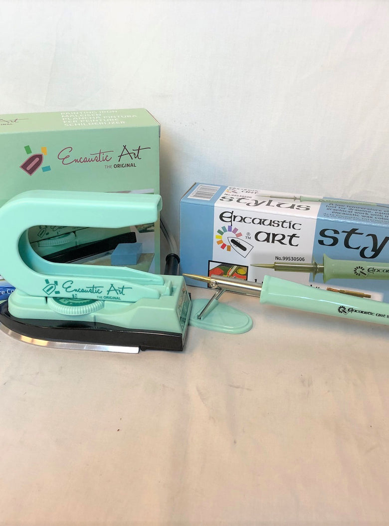 Encaustic Art Bundle Painting Iron & Low Heat Art Stylus