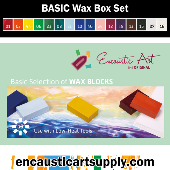 Encaustic Art Basic Selection of wax blocks