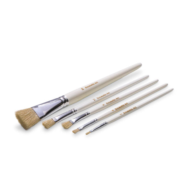 Encaustic Art Brushes - Assortment