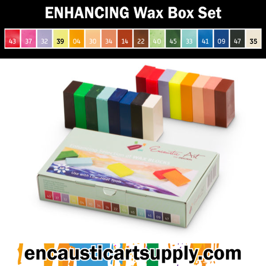 Encaustic Art Enhancing Selection of wax blocks