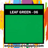 Encaustic Art Wax Blocks 16 pcs - Light green