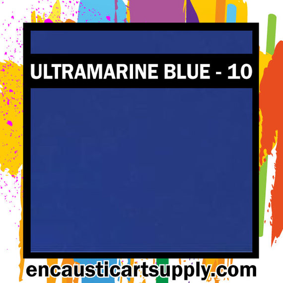 Encaustic Art Wax Blocks 16 pcs - Ultramarine