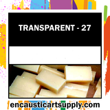 Encaustic Art Wax Blocks 16 pcs - Clearwax