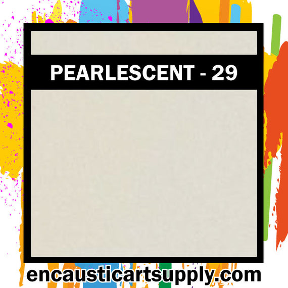 Encaustic Art Wax Blocks 16 pcs - Pearlescent