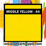 Encaustic Art Wax Blocks 16 pcs - Middle yellow