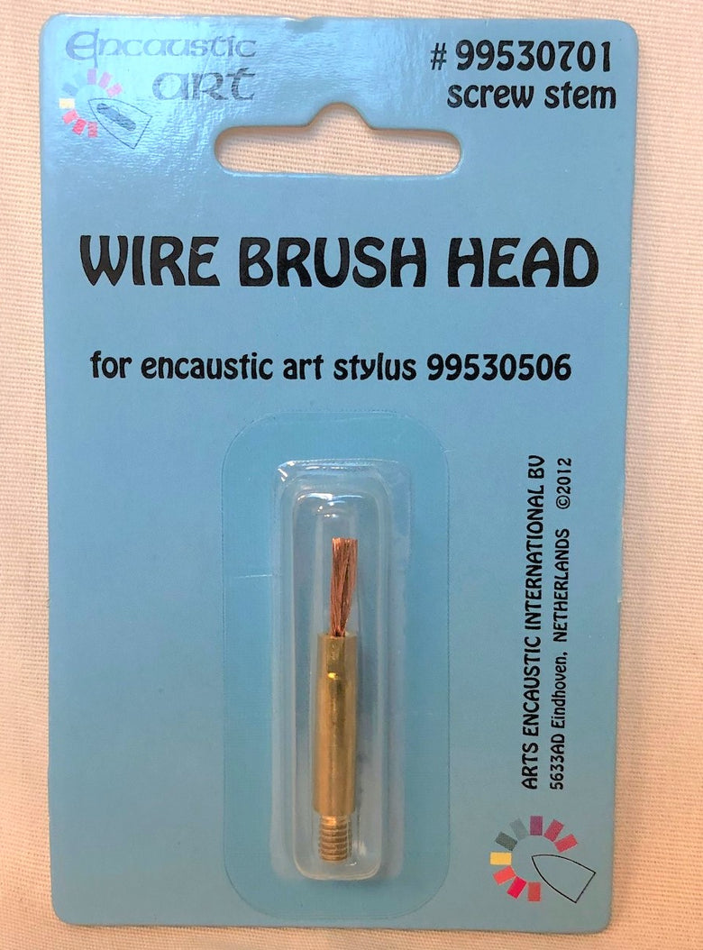 Encaustic Art Replacement Wire Brush Head For Encaustic Art Stylus #99530701