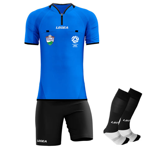 Hills Football Arbitro Drive Referee Kit Blue