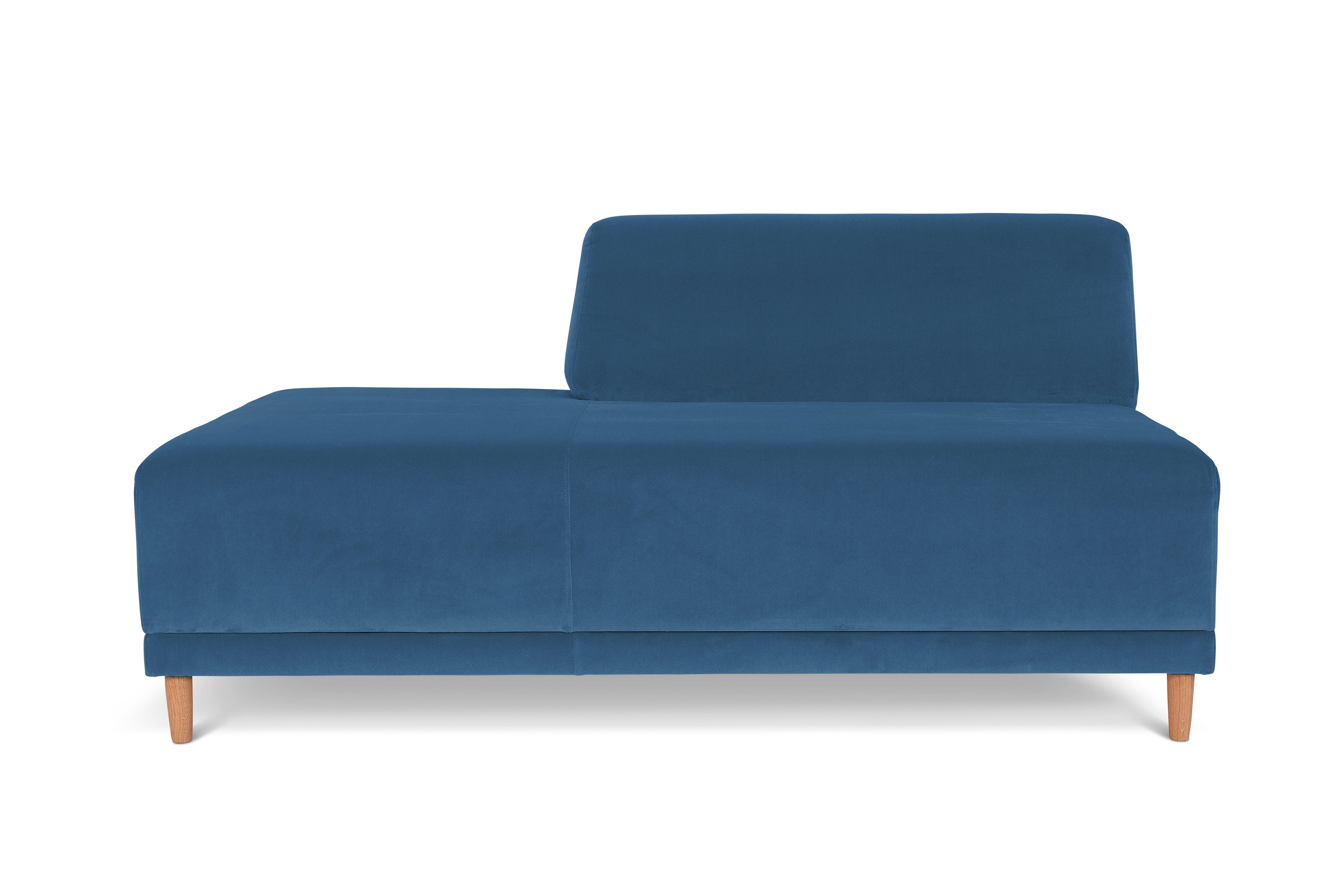 FLOKK velvet. Open Seat, left