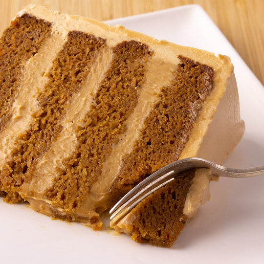 October Cake of the Month - Salted Caramel Pumpkin