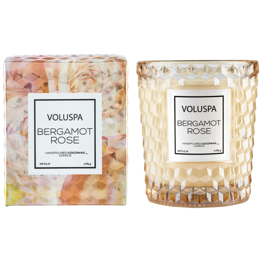 VOLUSPA BERGAMOT ROSE CLASSIC CANDLE