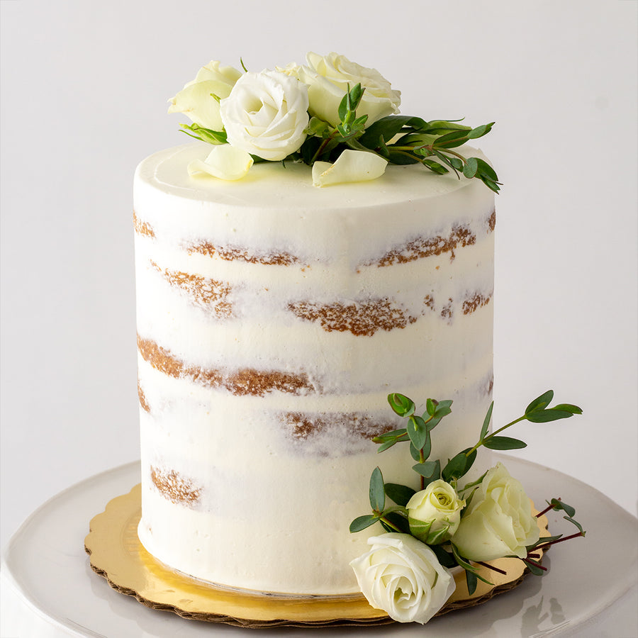 Naked Buttercream Cake
