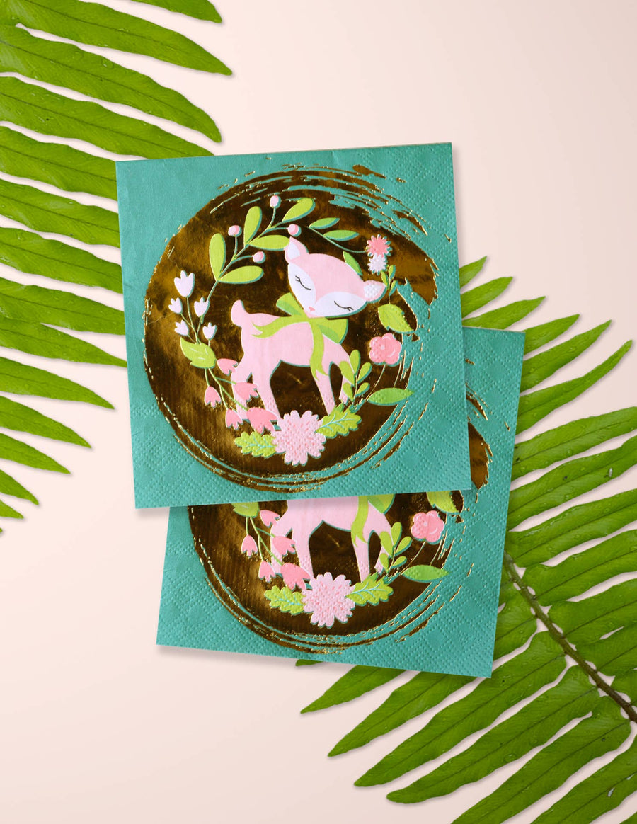 Woodland Animals Party Napkins