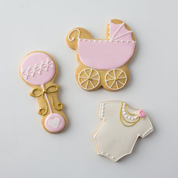 Classic Baby Shower Cookies