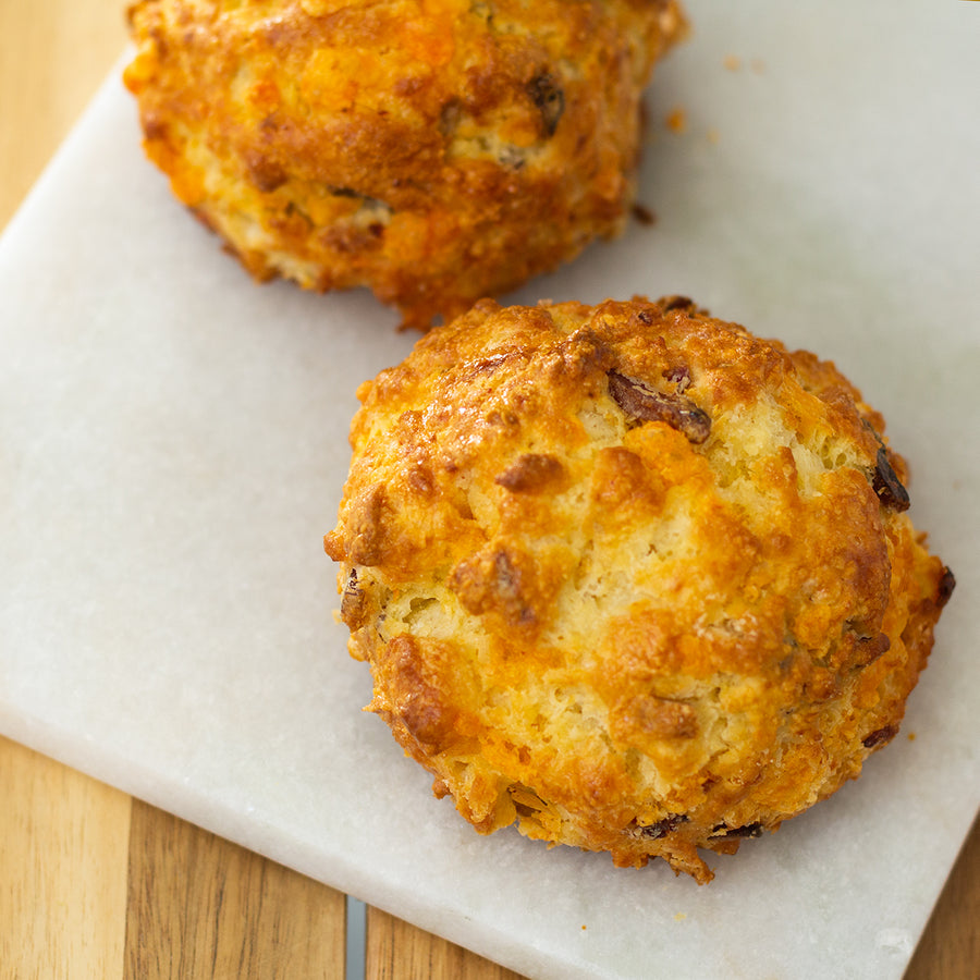 Bacon Cheddar Scone