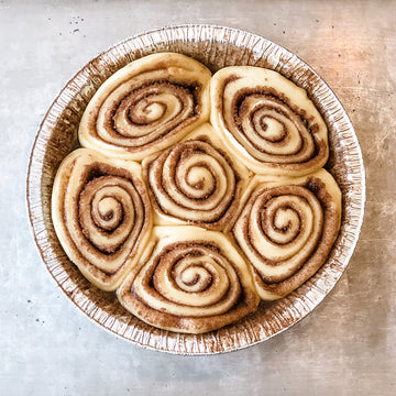 Bake at Home Cinnamon Rolls